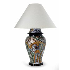 "The Castillo Family 17.3"" H Ceramic Table Lamp"