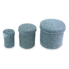 The Juli Astiti 3 Piece Beaded Nesting Boxes