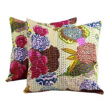 The Lalit Kumar Cotton Cotton Cushion Cover