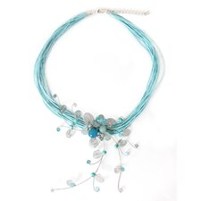 The Busarin Sterling Silver Gemstone Choker