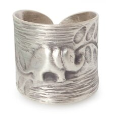 The Achara Sterling Silver Wrap Ring