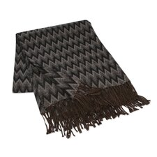 The Jorge Prior Acrylic and Alpaca Throw Blanket