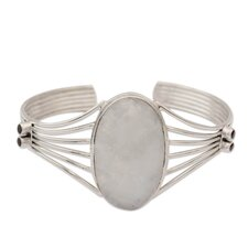 The Shanker Moonstone Cuff Bracelet