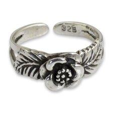 The Wadarat Supasirisuk Sterling Silver Toe Ring