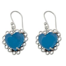 The Shanker Heart Earrings