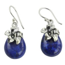 The Neeru Goel Lapis Lazuli Dangle Earrings