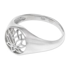 The Ketut Darmawan Sterling Silver Flower Ring