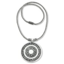 The Zayd Makarim Sterling Silver Pendant Necklace