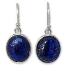 The Matta Lapis Lazuli Dangle Earrings