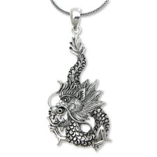 The Nyoman Rena Sterling Silver Pendant Necklace
