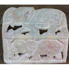 The Raj Kumari Soapstone Box
