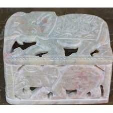 The Raj Kumari Soapstone Box