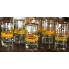 The Javier and Efren Blown Shot Glasses (Set of 6)