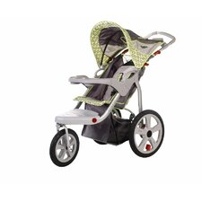 Safari Swivel Wheel Single Stroller