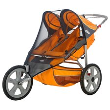 <strong>InSTEP</strong> Accessory Double Fixed Wheel Stroller Bug Cover