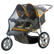 <strong>InSTEP</strong> Accessory Double Swivel Wheel Stroller Bug Cover