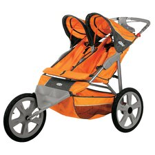 Flash Fixed Double Jogging Stroller