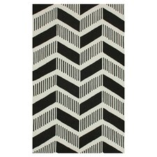 Trellis Black Shelly Rug