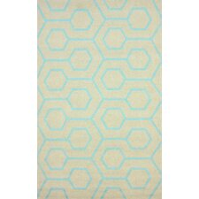 Air Libre Blue Charles Indoor/Outdoor Area Rug