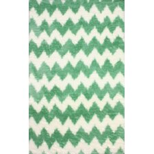 Block Island Green Borris Area Rug