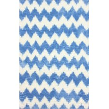 Block Island Blue/White Borris Area Rug
