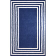 Block Blue Island Klauss Faux Area Rug