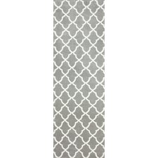 Block Island Grey Gustav Faux Area Rug