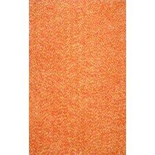 Glamour Orange Viola Shag Rug