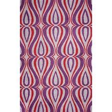 Uzbek Purple Luciano Rug