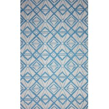 Novel Imture Light Blue Outdoor Area Rug