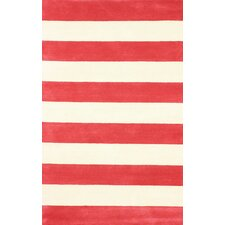 San Miguel Red/Ivory Sylvester Area Rug