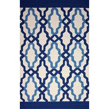 Novel Blue Franca Indoor / Outdoor Area Rug