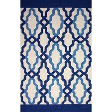 Novel Blue Franca Indoor / Outdoor Rug