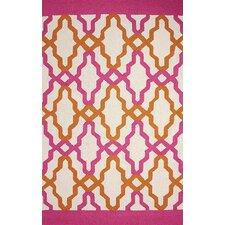 Novel Pink Franca Indoor / Outdoor Rug