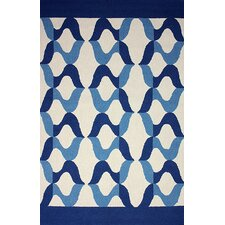 Novel Aldo Blue Indoor/Outdoor Area Rug
