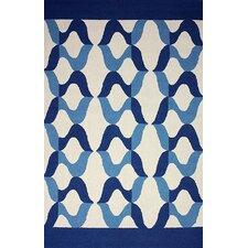 Novel Blue Aldo Indoor/Outdoor Rug