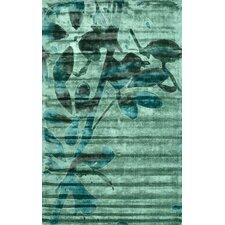 Europe Green Therbel Rug