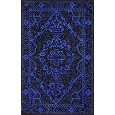 Europe Marcus Blue/Black Area Rug