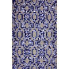 Europe Blue Casey Area Rug