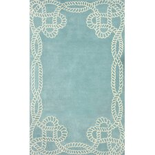 Filigree Marco Polo Blue Area Rug