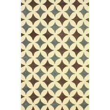 Hacienda Giovanna Geometric Area Rug