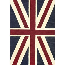 San Miguel Denim Union Jack Rug