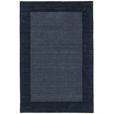 Structures Blue/Denim Border Area Rug