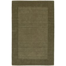 Structures Green Border Rug