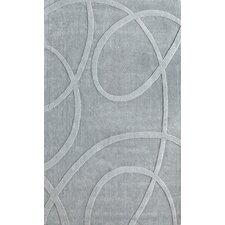 Moderna Grey Splatter Area Rug