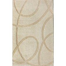 Moderna Ivory Splatter Area Rug