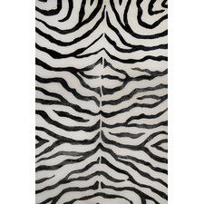 Earth Soft Zebra Black Rug