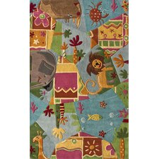 Kinder Animal Friends Kids Rug