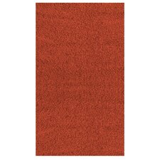 Shaggy Zest Orange Area Rug