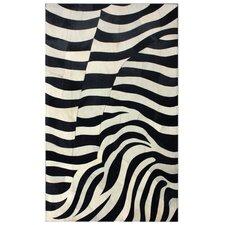 Hudson Zebra Black Rug